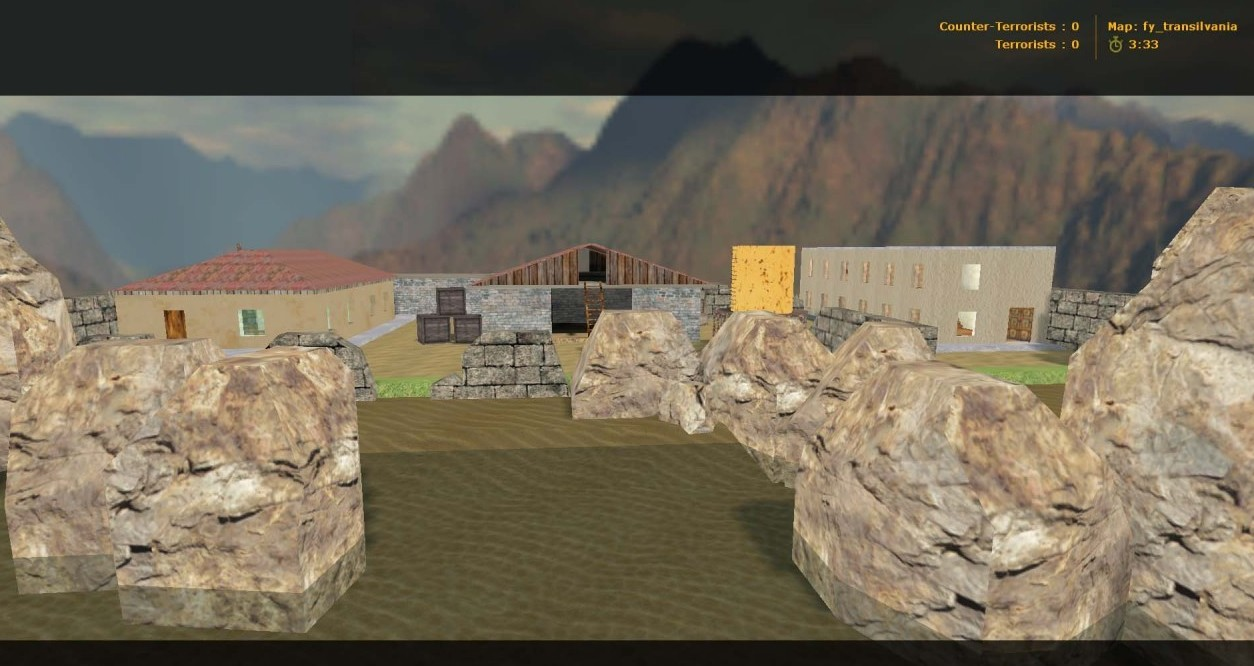 Counter-Strike Map - fy_transilvania screenshot 2