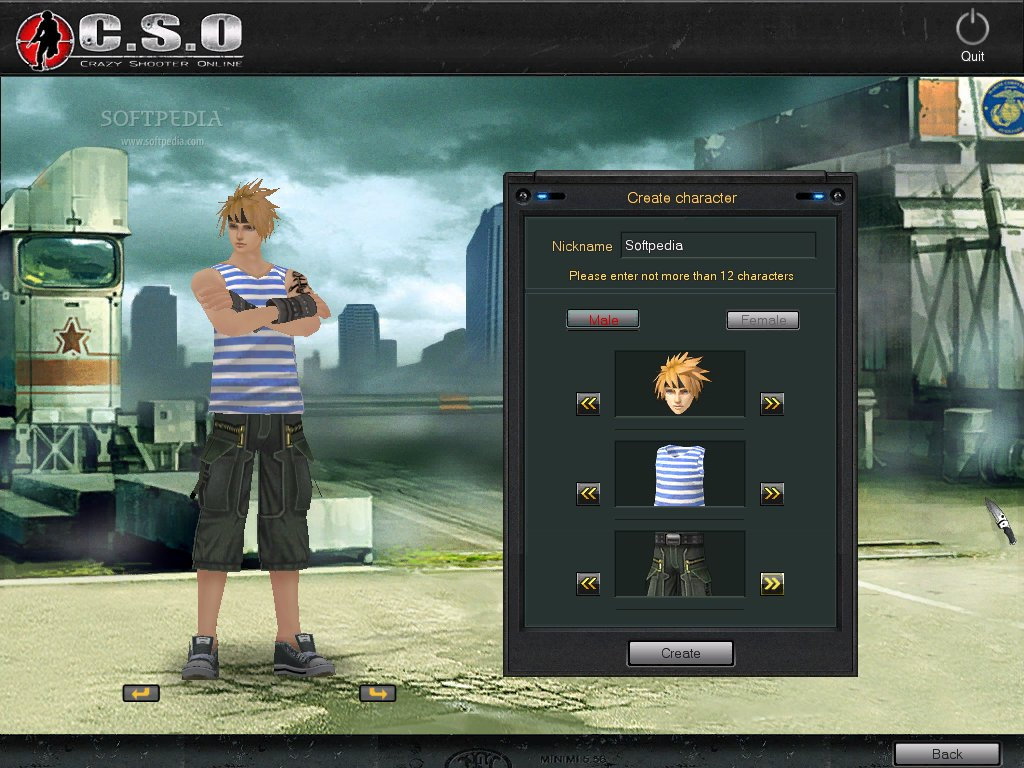 Crazy Shooter Online Client screenshot 1