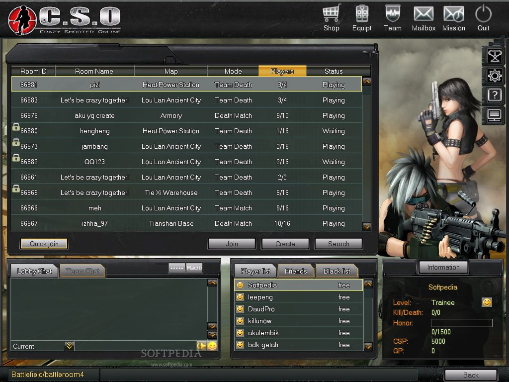 Crazy Shooter Online Client screenshot 2
