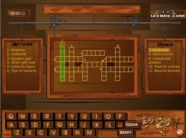 Crossword 83 screenshot 1