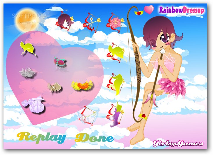 Cupid Girl Dress Up screenshot 2