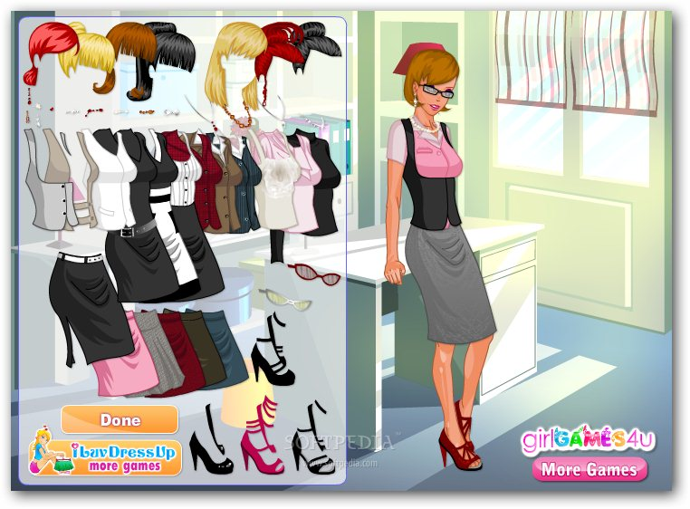 Cute Office Clothes - 94.8KB