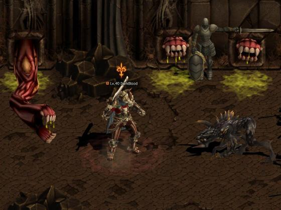 Dark Blood Client screenshot 5