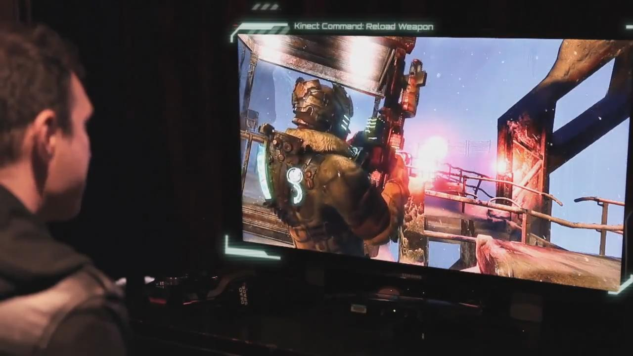 Dead Space 3 - Better with Kinect Trailer screenshot 7