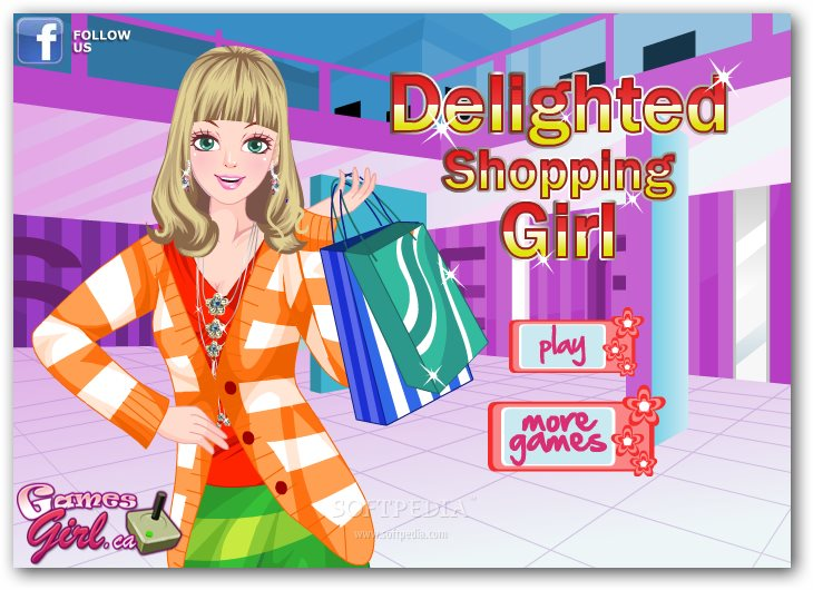 Delighted Shopping Girl screenshot 1