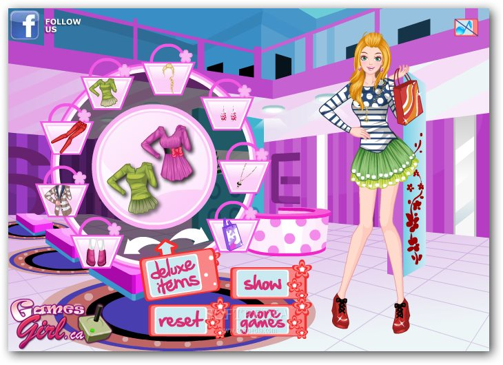 Delighted Shopping Girl screenshot 2