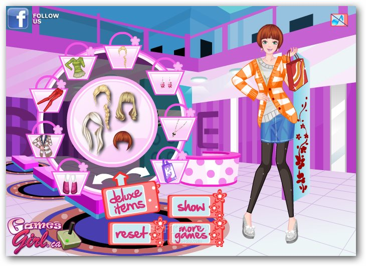 Delighted Shopping Girl screenshot 3