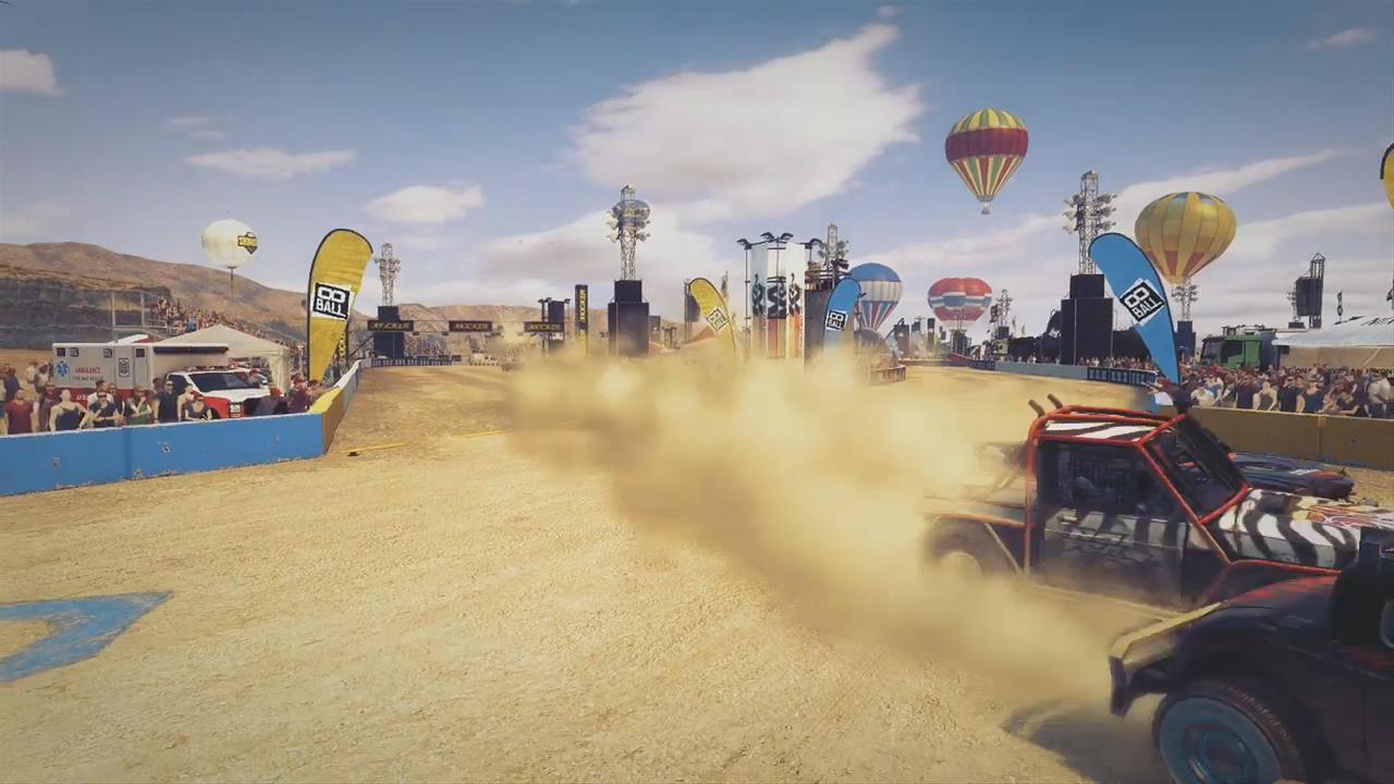 DiRT Showdown: 8-Ball Live! Feature screenshot 4