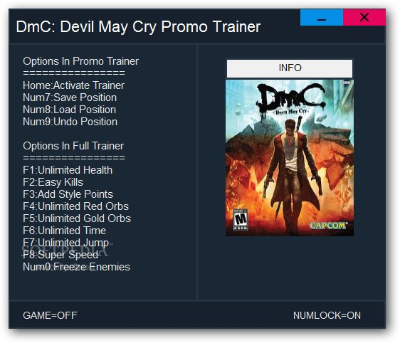 Trainer de devil may cry 4 download