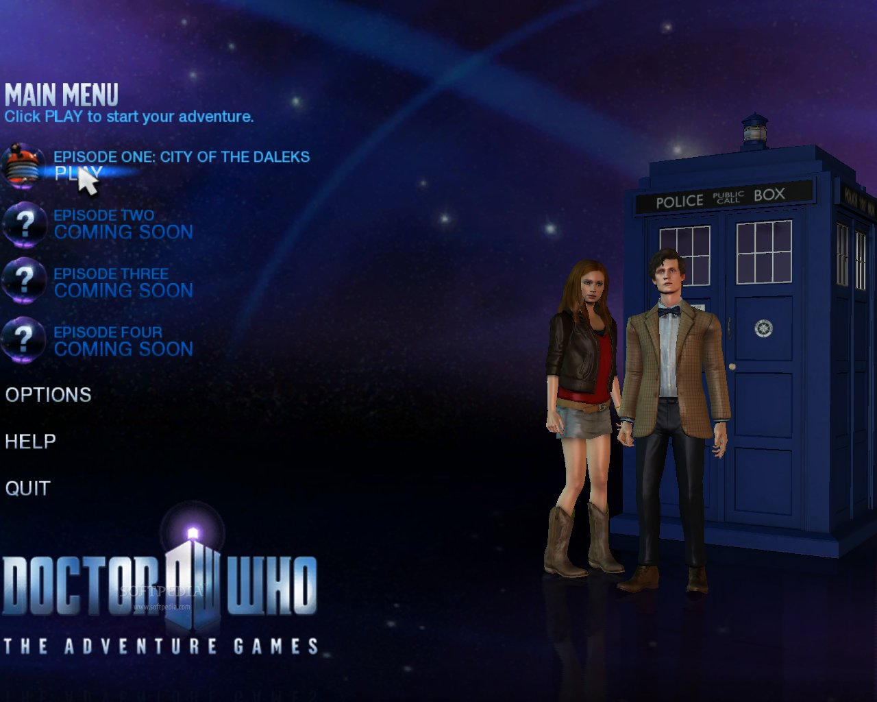 Doctor who adventure games