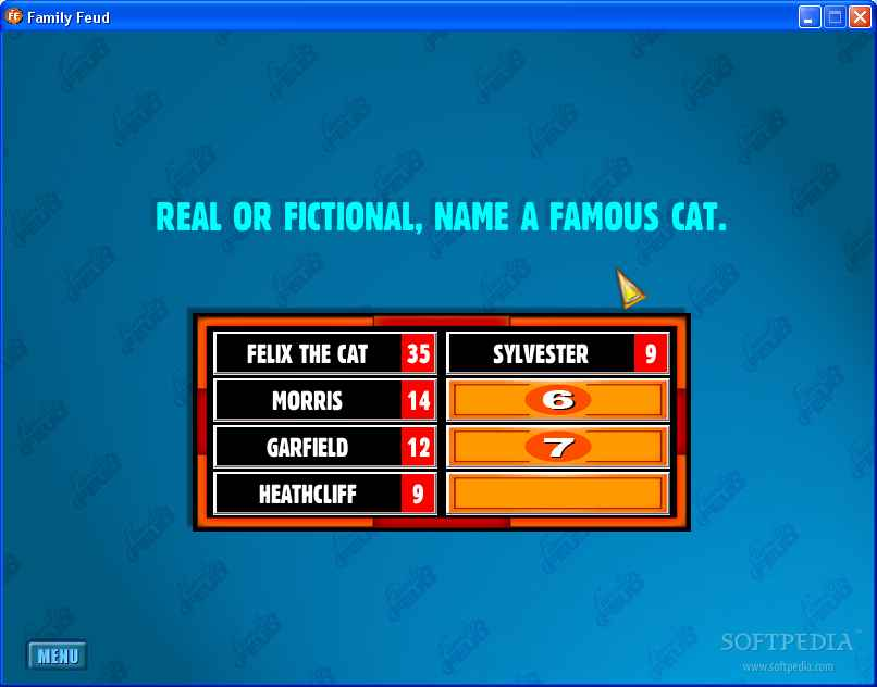 All the answers for your Family Feud questions!