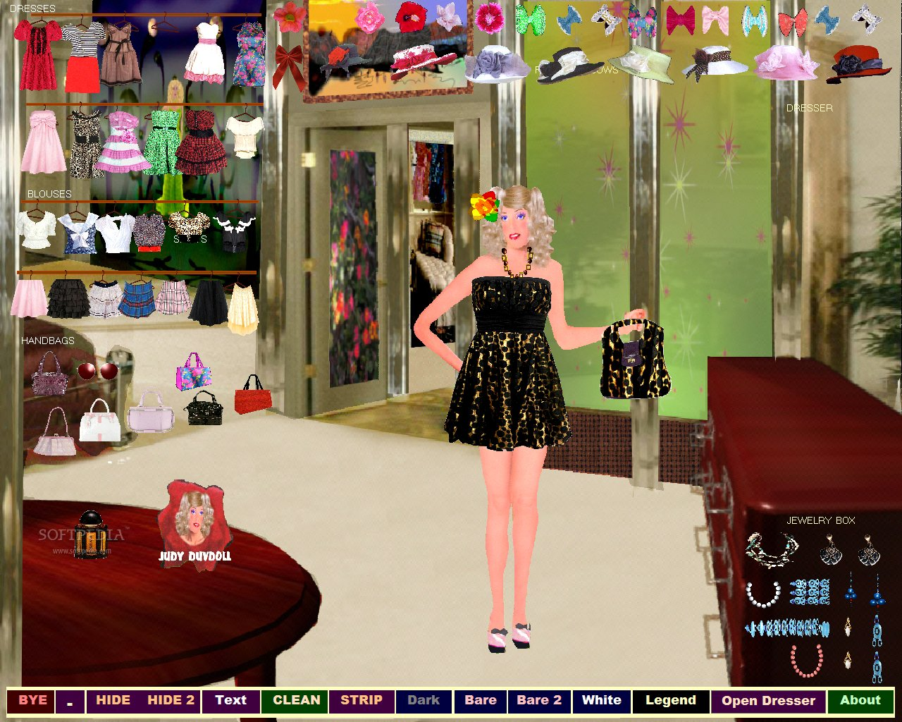 Wedding dress up room decor games