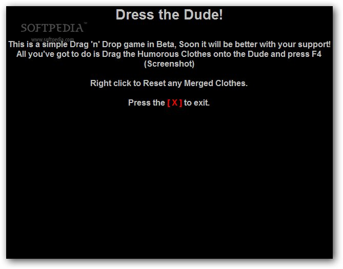 Dress the Dude! screenshot 1
