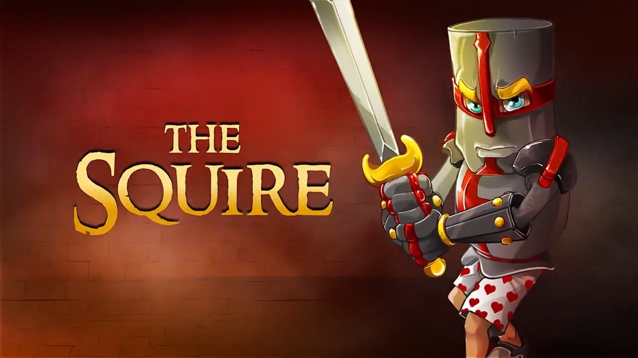 Dungeon Defenders Huntress Wallpaper he Played as a Squire Named