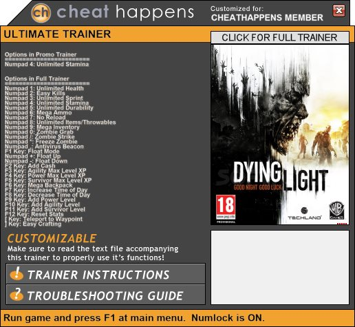 how to play dying light coop steam