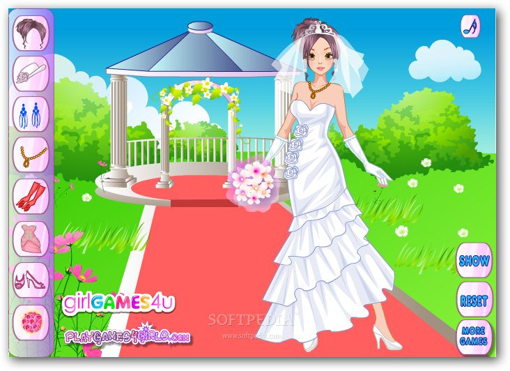 Elegant Bride Dress Up screenshot 2