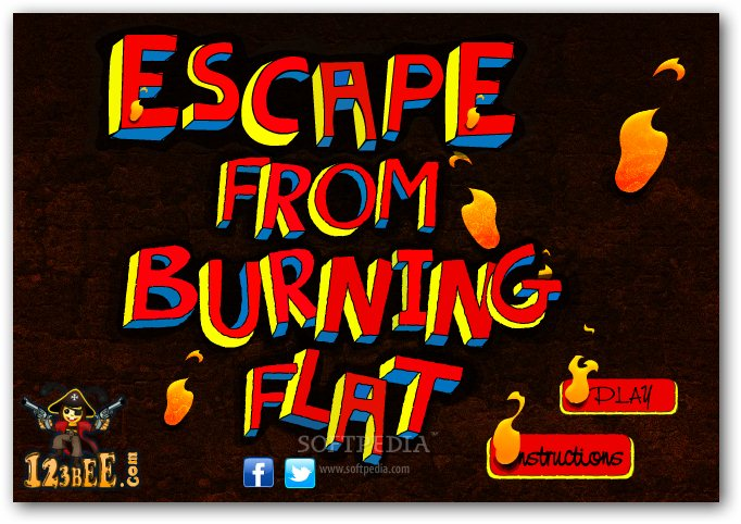 Escape from Burning Flat screenshot 1