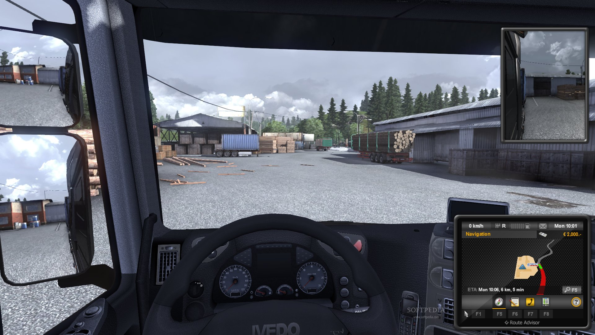 Euro Truck Simulator 2 Demo screenshot 2