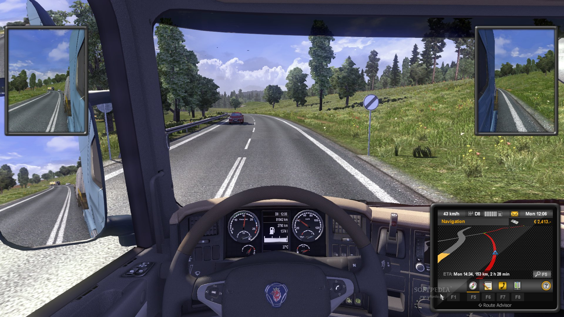 Euro Truck Simulator 2 Demo screenshot 21