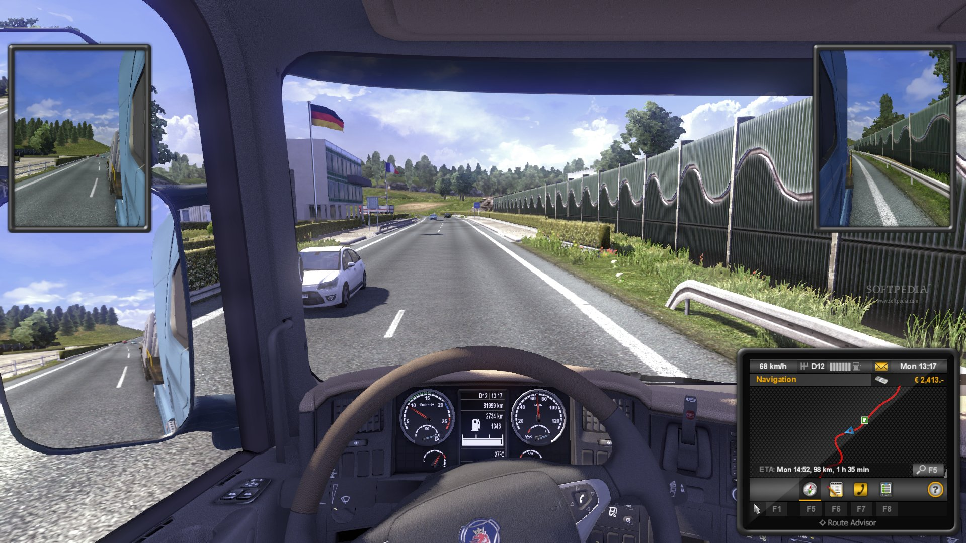Euro Truck Simulator 2 Demo screenshot 24