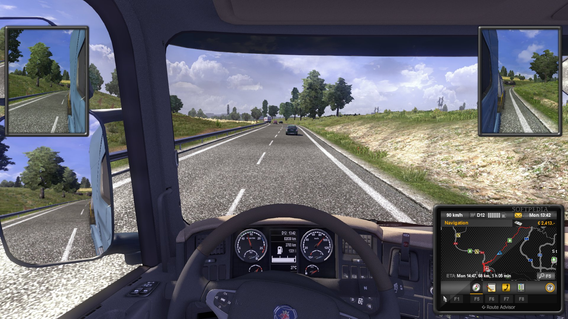 Euro Truck Simulator 2 Demo screenshot 25