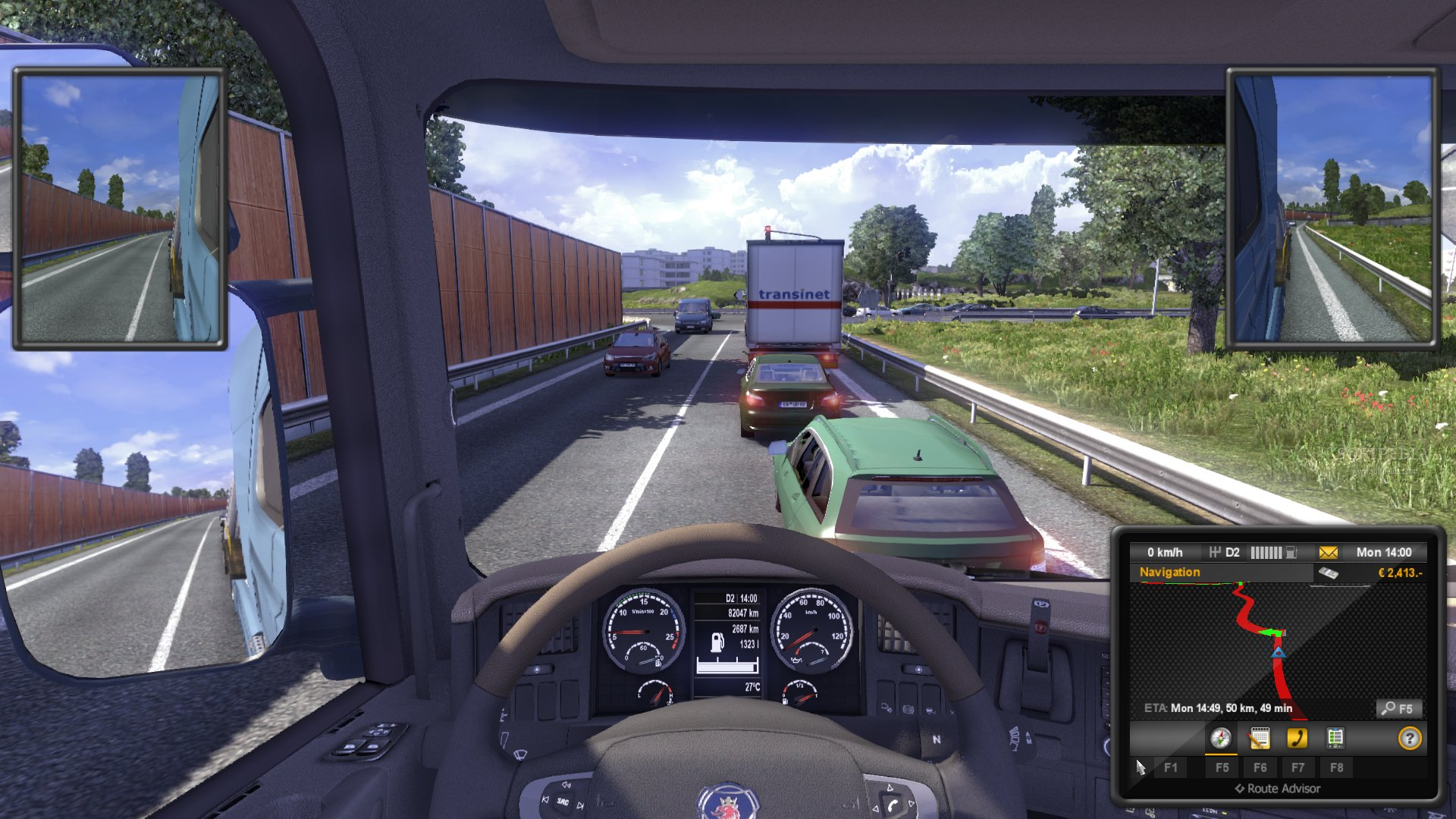 Euro Truck Simulator 2 Demo screenshot 26
