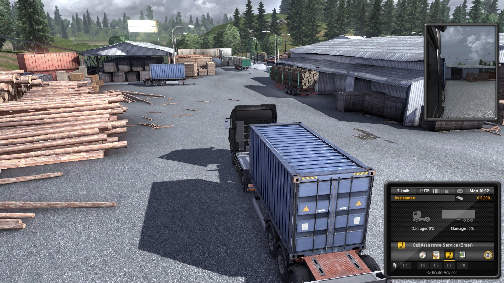 Euro Truck Simulator 2 Demo screenshot 4