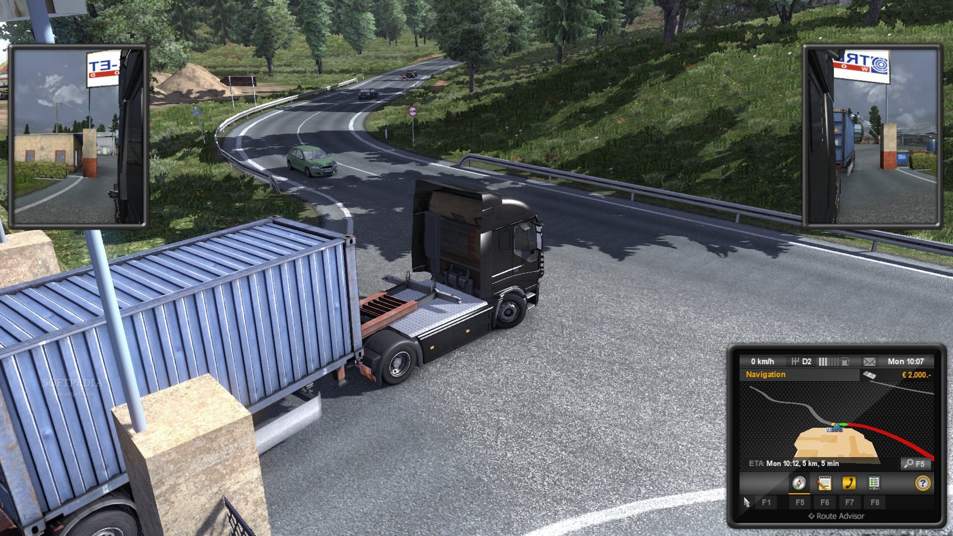 Euro Truck Simulator 2 Demo screenshot 7