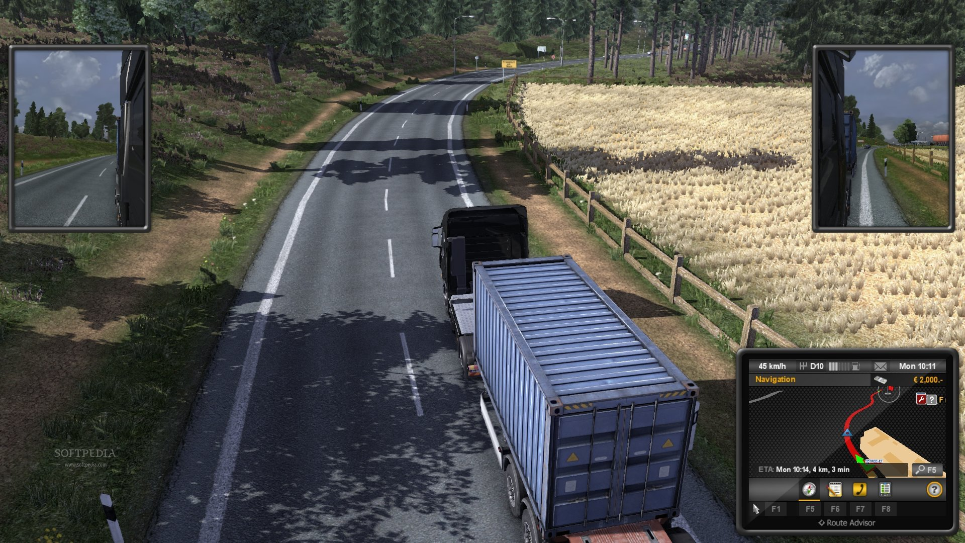 Euro Truck Simulator 2 Demo screenshot 8