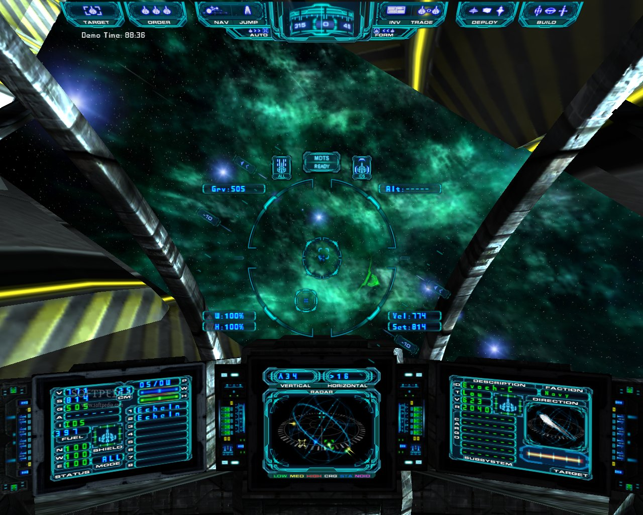 Evochron Mercenary Server screenshot 1