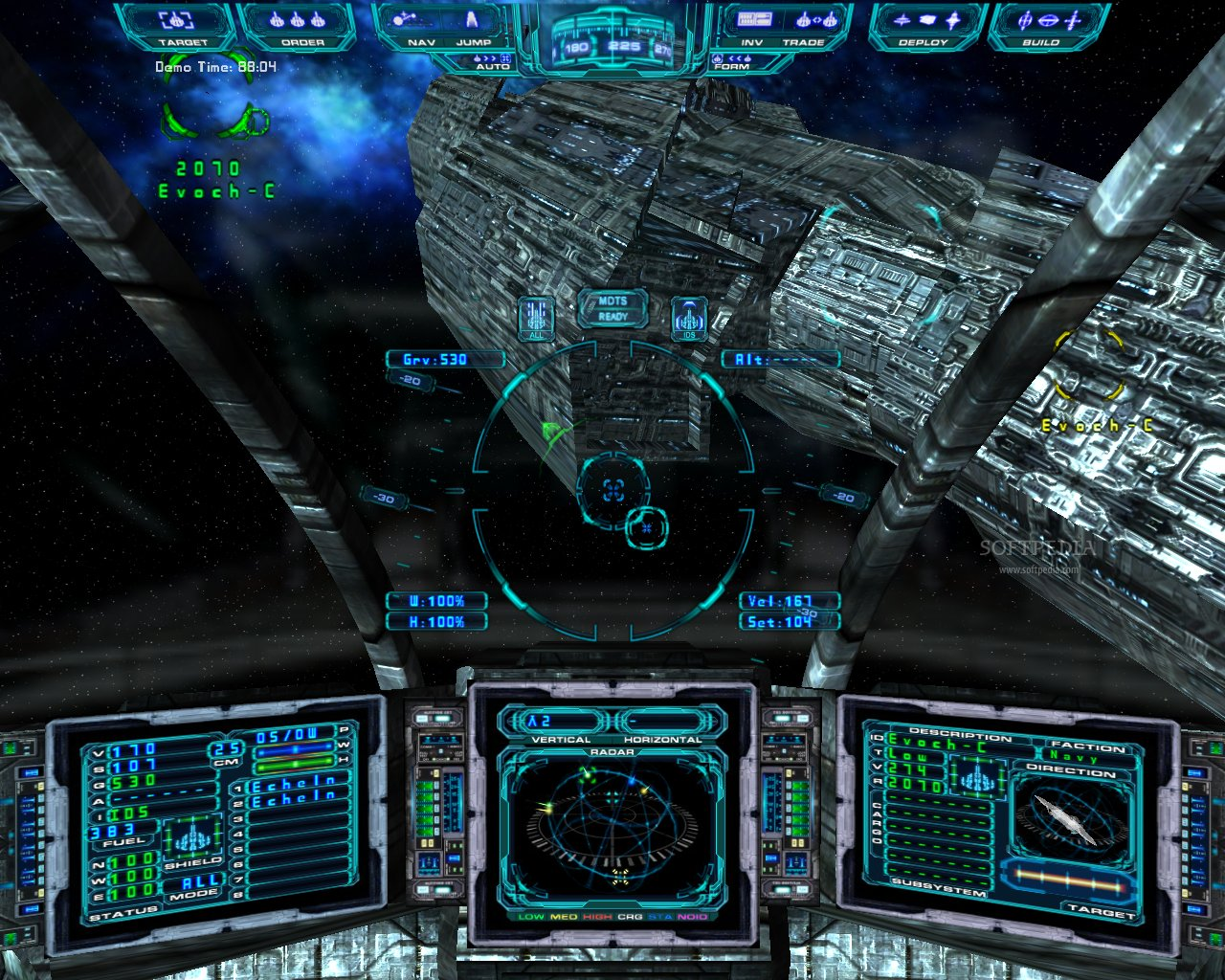 Evochron Mercenary Server screenshot 2