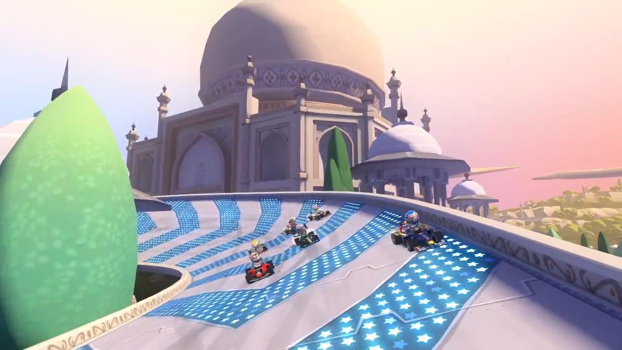F1 Race Stars India Fly Through Trailer screenshot 11