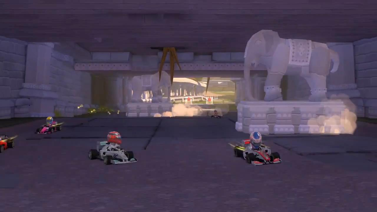 F1 Race Stars India Fly Through Trailer screenshot 12