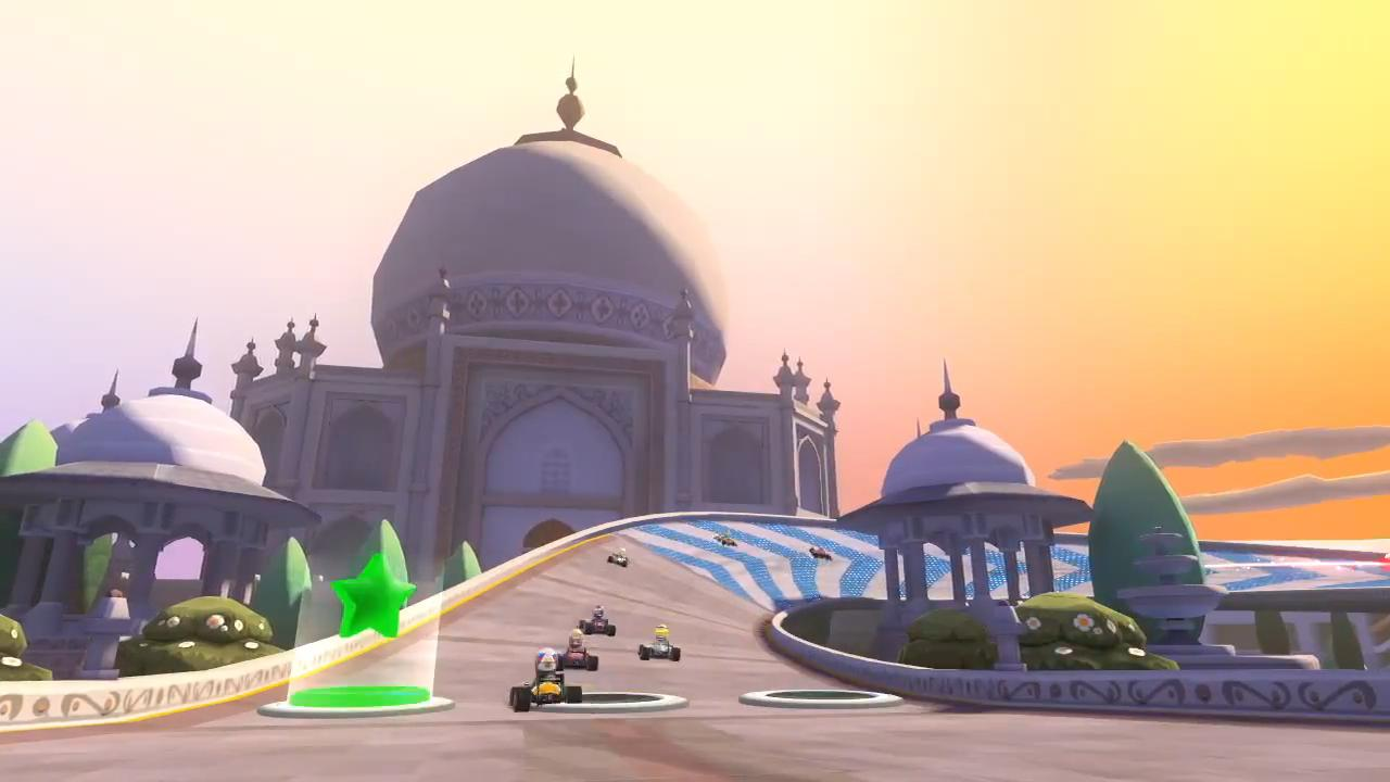 F1 Race Stars India Fly Through Trailer screenshot 14