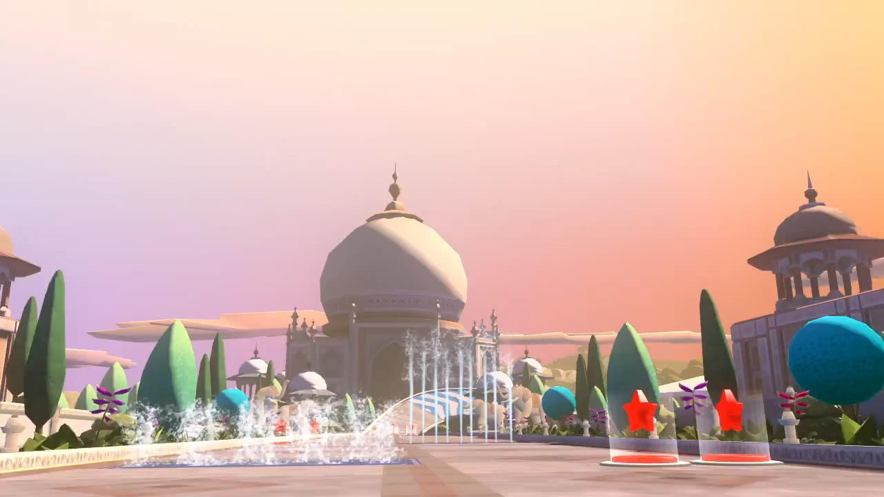 F1 Race Stars India Fly Through Trailer screenshot 2