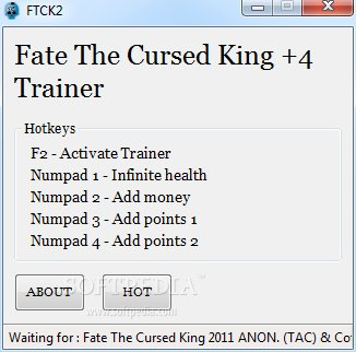 Cheats For Fate The Cursed King