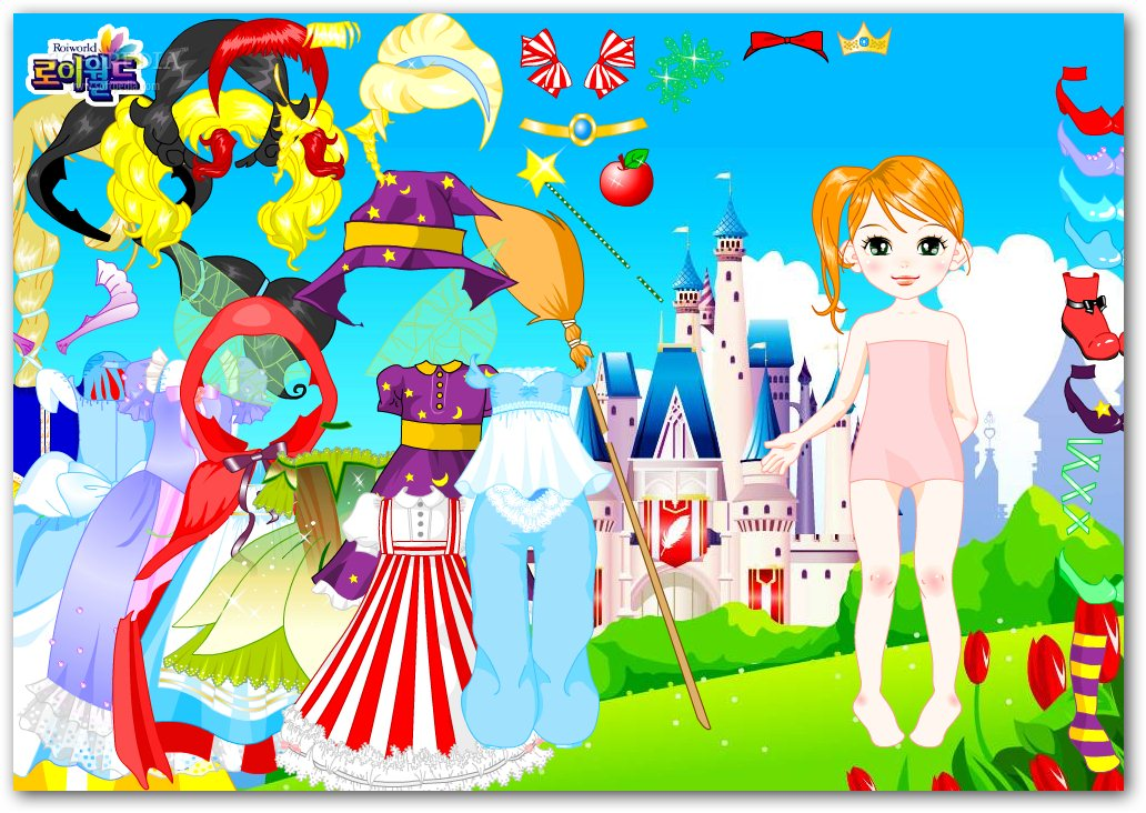 Fairytale Doll Dress Up screenshot 1