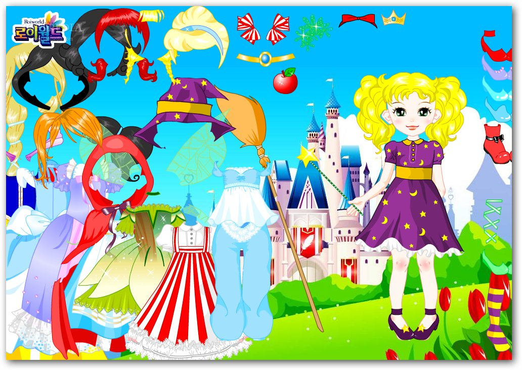 Fairytale Doll Dress Up screenshot 2
