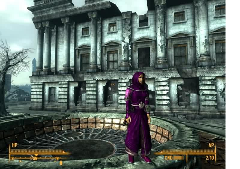 Fallout 3 Addon - A COCT Robe screenshot 1