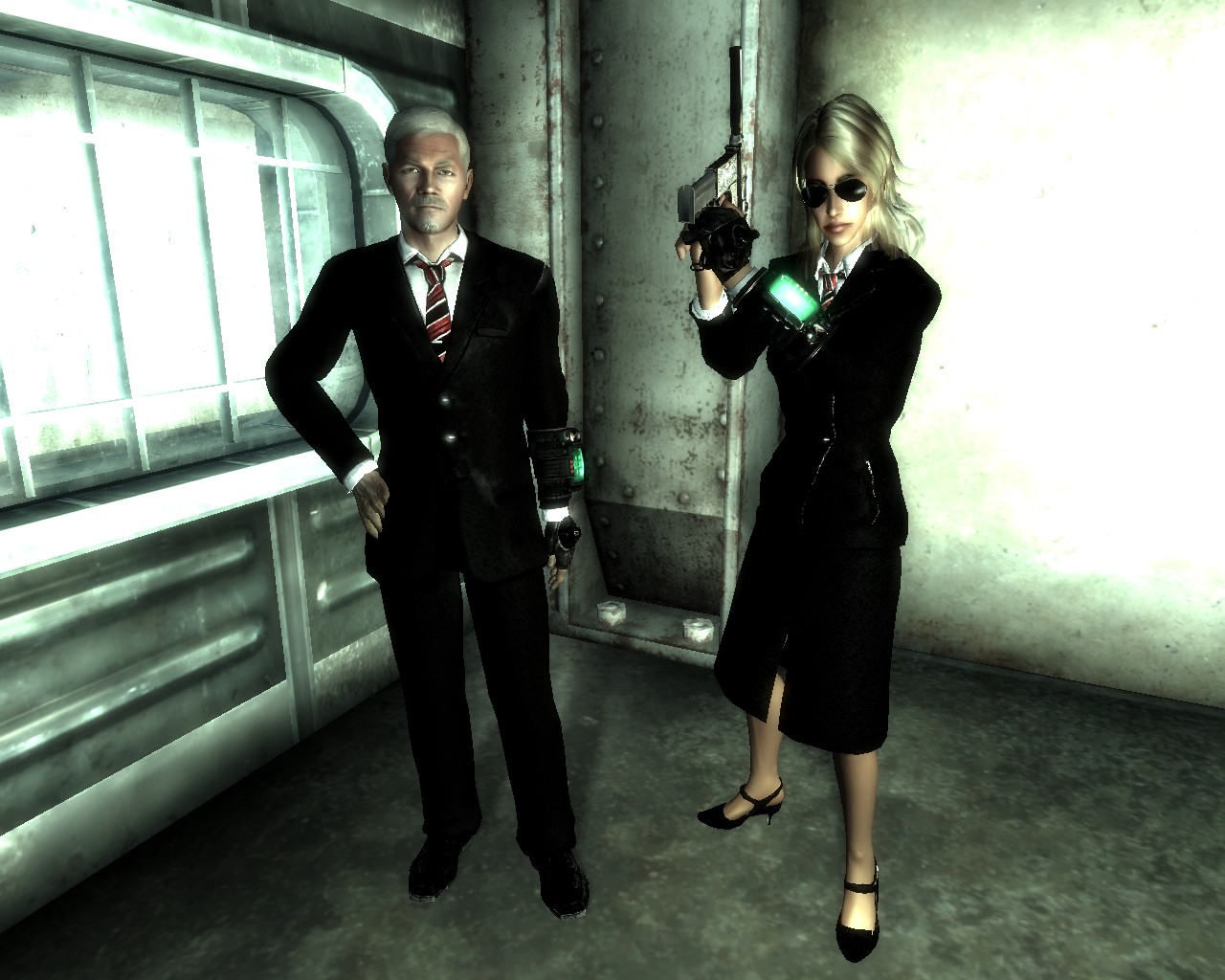 Fallout 3 Mod - Buisness Suit screenshot 1