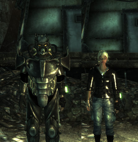 Screenshot 1 of Fallout 3 Mod - Power Armor Increased Size