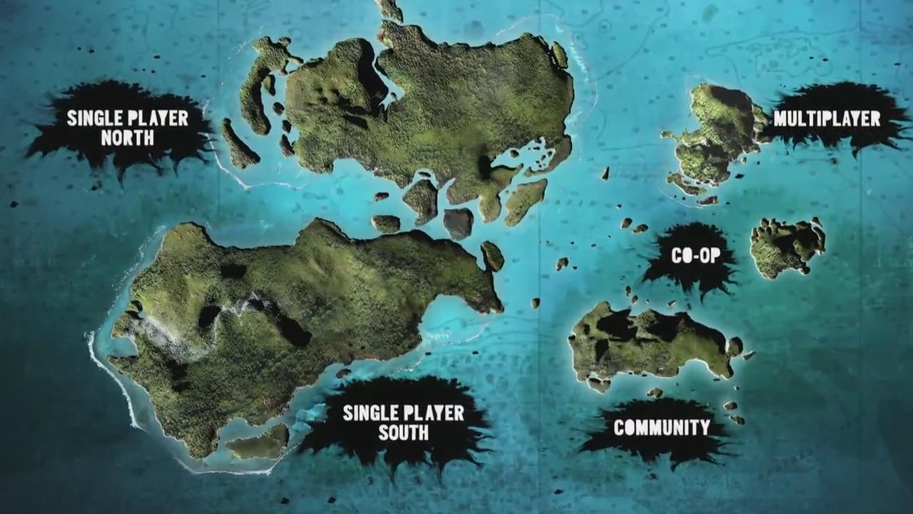 far cry 3 map size