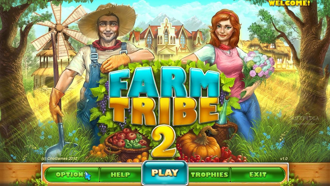 Farm Tribe 2 screenshot 1