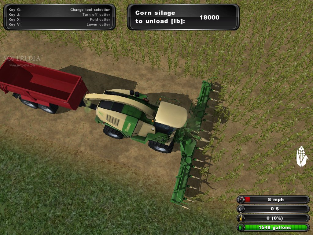 Farming Simulator 2011 Patch screenshot 1