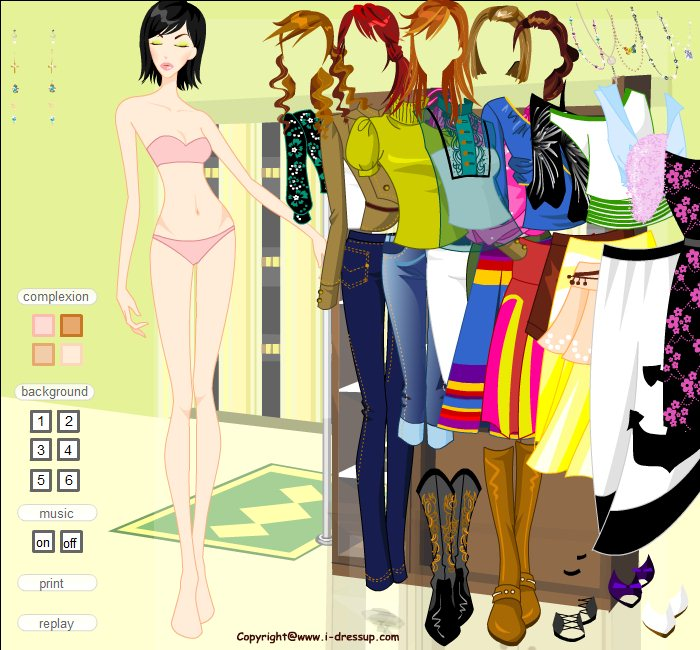 Fashion Lady Dress Up screenshot 1