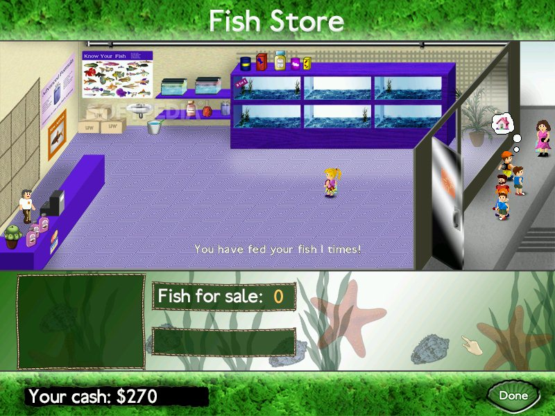 Fish tycoon demo download for Fish tycoon games