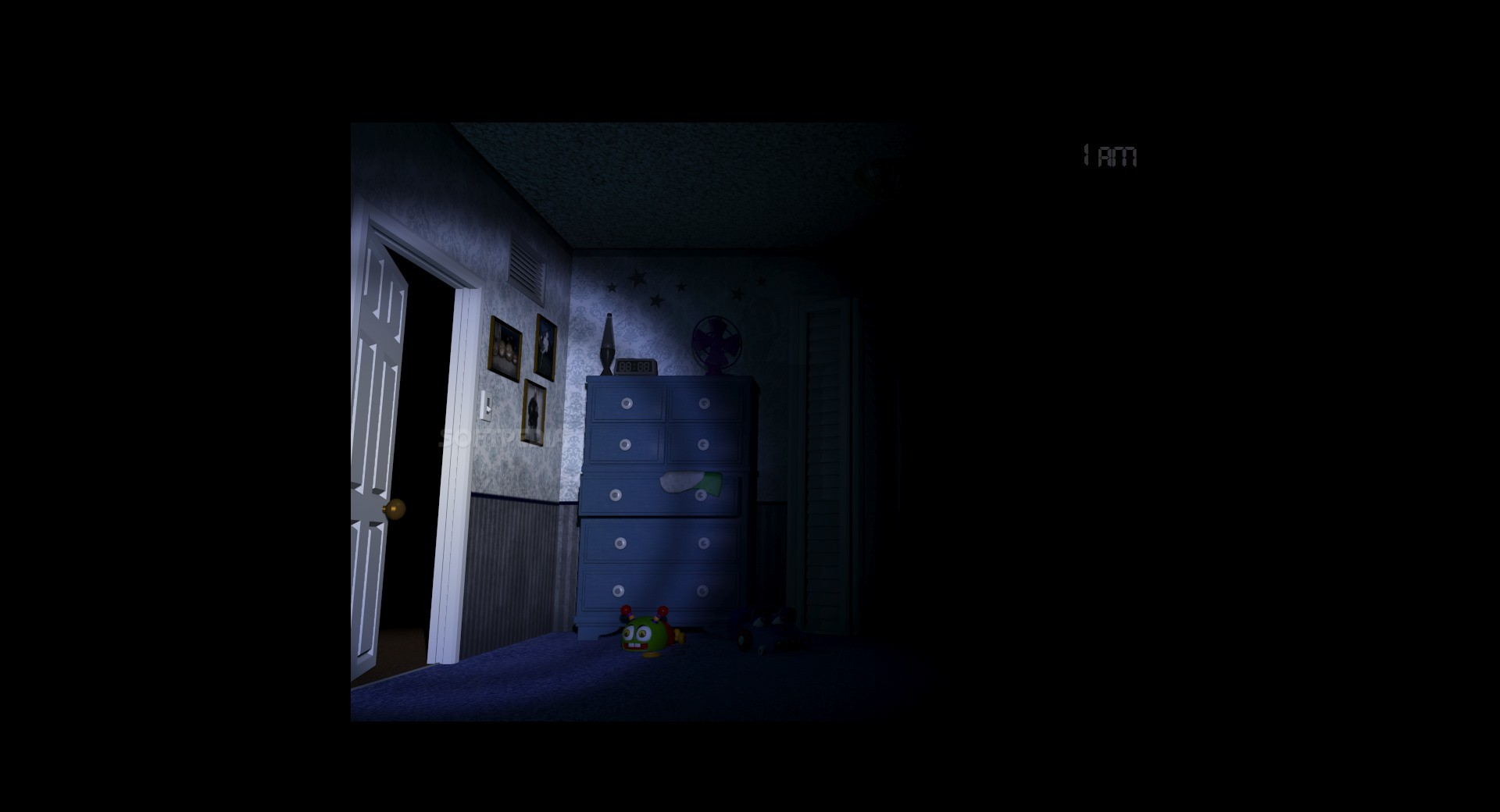 Five nights at freddy s 4 demo this time you need to run to the door