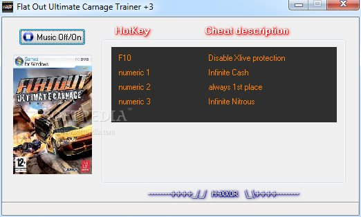 Screens Zimmer 8 angezeig: flatout ultimate carnage trainer