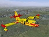 FlightGear Addon - Bombardier 415 screenshot 1