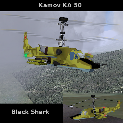 FlightGear Addon - Kamov KA 50 Black Shark screenshot 1
